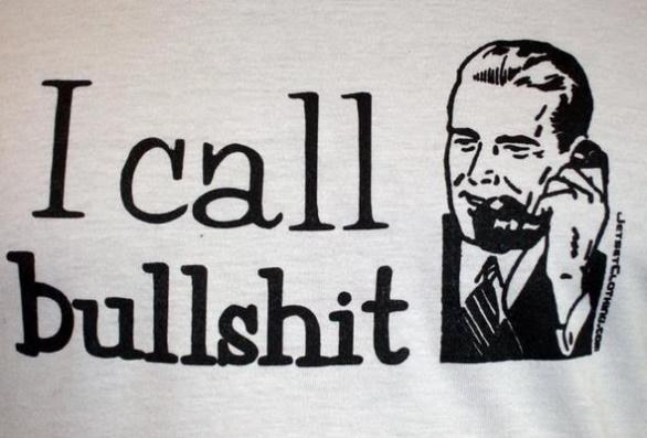 call bullshit