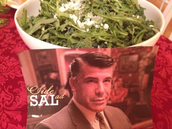 mad men sal party food