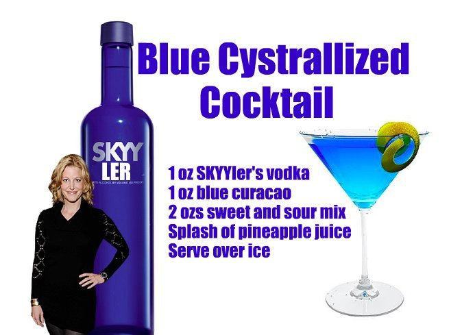 Skyyler Vodka Cocktail Breaking Bad Premiere Party