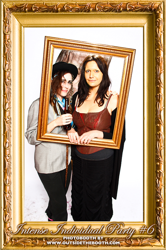 Boy George and Mona Lisa