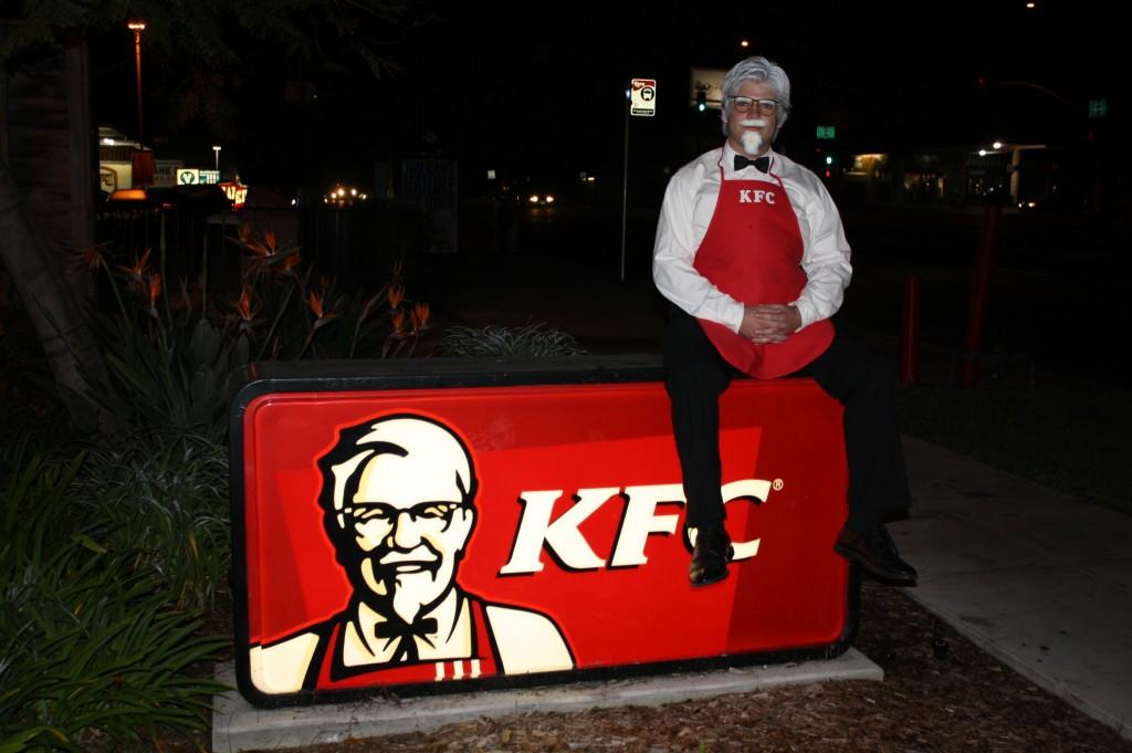 Colonel At KFC