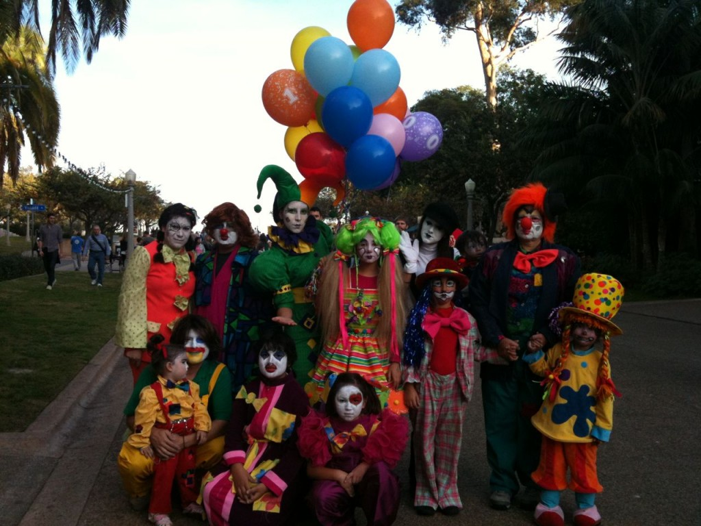 clowns birthday party